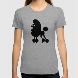Angry Animals - French Poodle T-shirt