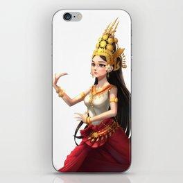 Apsara Dancer iPhone Skin