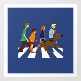 dog scooby Art Print