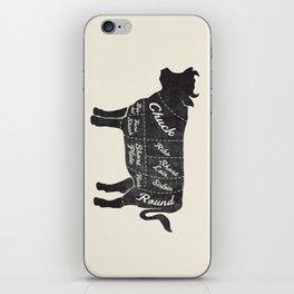 Beef Butcher Diagram iPhone Skin
