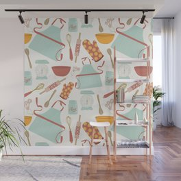 Vintage Kitchen Wall Mural