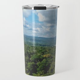 Amazon Jungle view from a tower Travel Mug