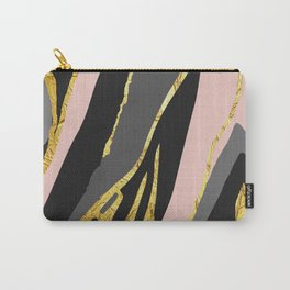 Gold and pale river Carry-All Pouch