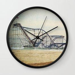 Jet Star Coaster Wall Clock