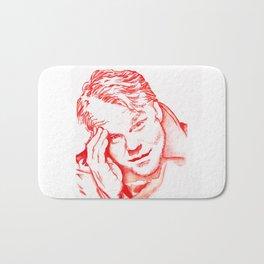 Philip Seymour Hoffman in Red Bath Mat