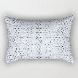 Shibori Diamonds Rectangular Pillow