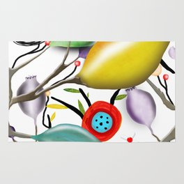 Cinque Terre - Lemons Lemon - Italian Riviera - Limoni Lemon Pattern Home Decor Rug