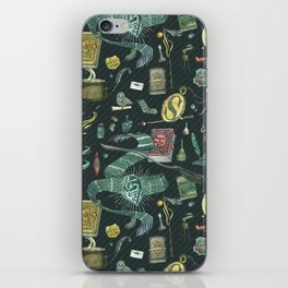 Slytherin House iPhone Skin