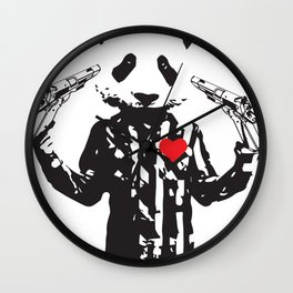 PandaPanda Wall Clock