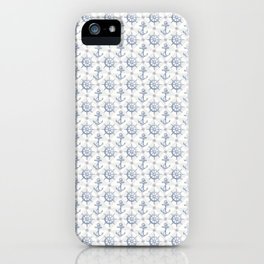 Nautical Pattern iPhone Case