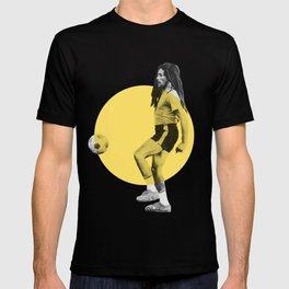 Marley playing soccer T-shirt