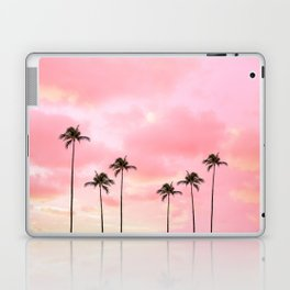 Palm Trees Photography | Hot Pink Sunset Laptop & iPad Skin