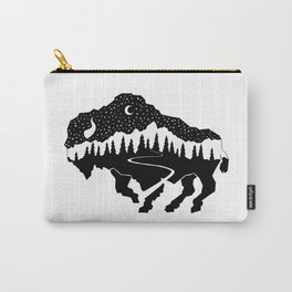 Grand Teton Bison Carry-All Pouch