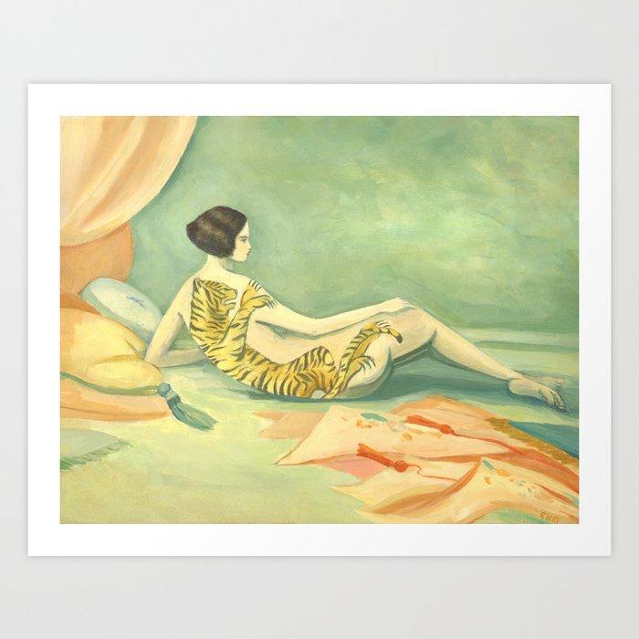A Savage Beauty Art Print