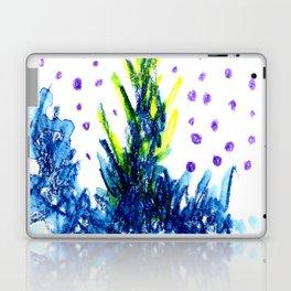 blue fire Laptop & iPad Skin