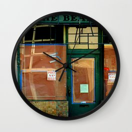 Anna Nother One Bites The Dust Wall Clock