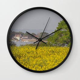 Summer. Wall Clock