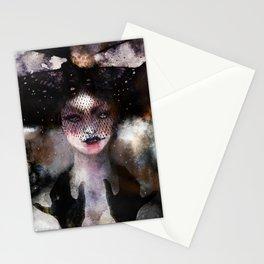 Veiled vamp Stationery Cards