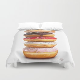 looks yummy, donut ? by dana alfonso Duvet Cover