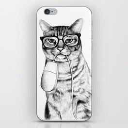 Mac Cat iPhone Skin