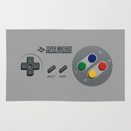 Classic Nintendo Controller Rug