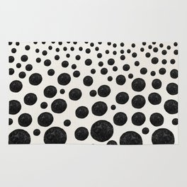 BNW Agatized Coral Dots Rug