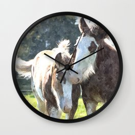 Best Buds Wall Clock