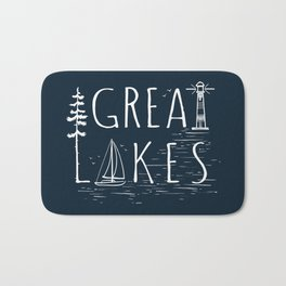 Great Lakes Bath Mat
