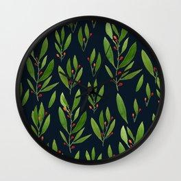 simple black nature Wall Clock