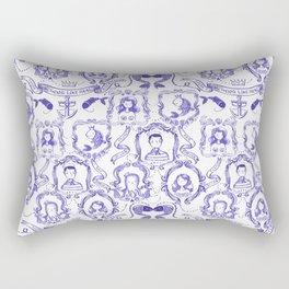 Sailor Hipster Pattern - Nothing like real Friends Sealife Patterns Rectangular Pillow