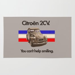 Citroen 2CV Rug