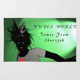 Dudes World: Tomes from Sborvjah Rug