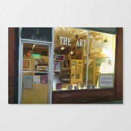 the art studio Canvas Print