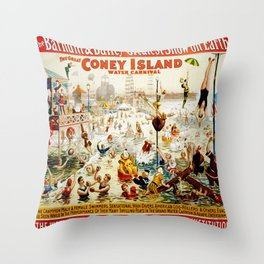 Vintage poster - Circus Throw Pillow