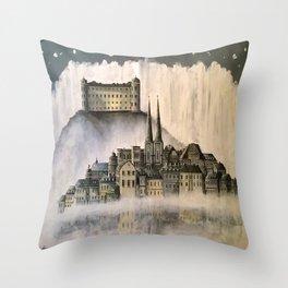 Magical Uppsala Throw Pillow