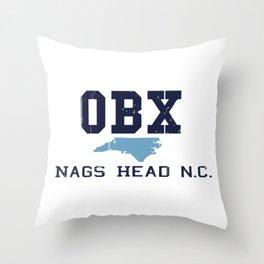 Nags Head - North Carolina. Throw Pillow
