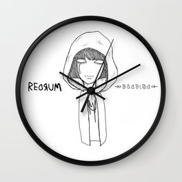 Redrum 01 Raina Wall Clock