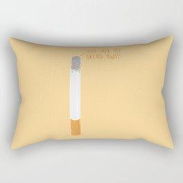 Take My Breath Away Rectangular Pillow