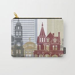 Phoenix skyline poster Carry-All Pouch