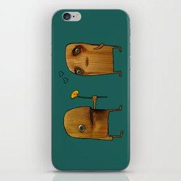 Wood He Love Me? iPhone Skin