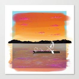 SUP Canvas Print