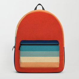 Retro 70s Color Palette III Backpack
