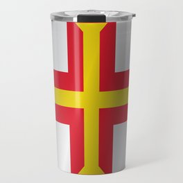 Flag of Guernsey Travel Mug
