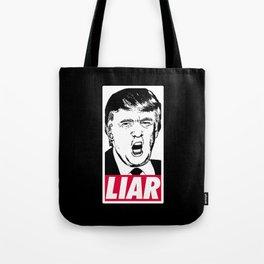 Trump - Liar Tote Bag