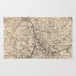 1906 Map of Atlanta, GA Rug