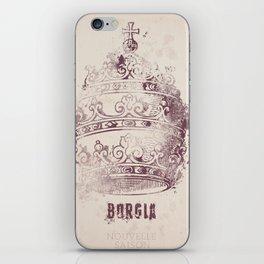 Borgia, tv series, alternative movie Poster, John Doman, Mark Ryder, Isolda Dychauk, Marta Gaslini iPhone Skin