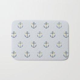Stormy Nautical Pattern 1 Bath Mat