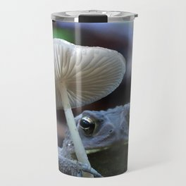 Froggie with a Parasol Travel Mug