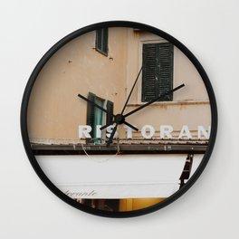 Italian Ristorante Wall Clock