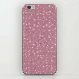 Sunset in Odense XI Hand drawn doodle floral iPhone Skin